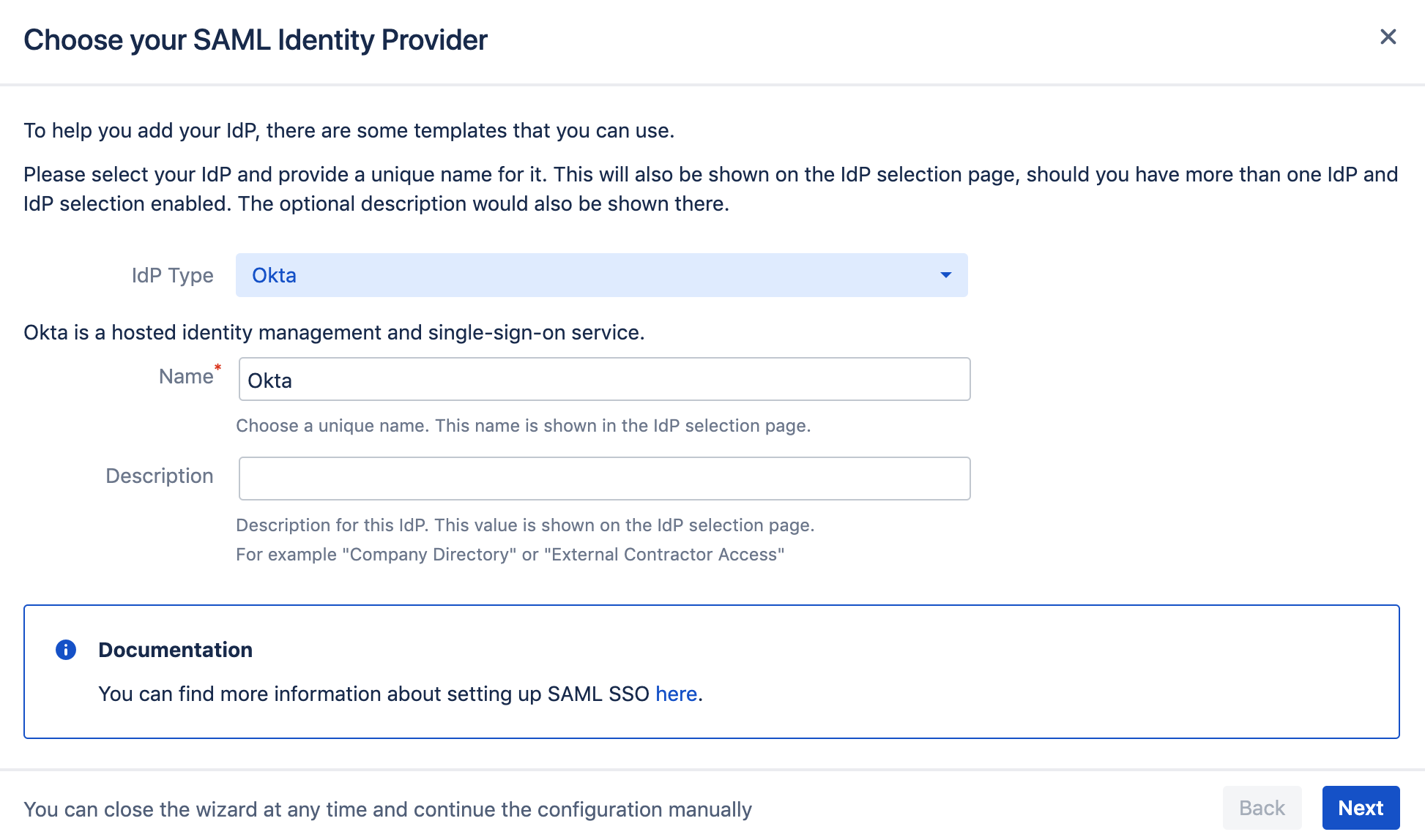 Okta with Just-In-Time Provisioning