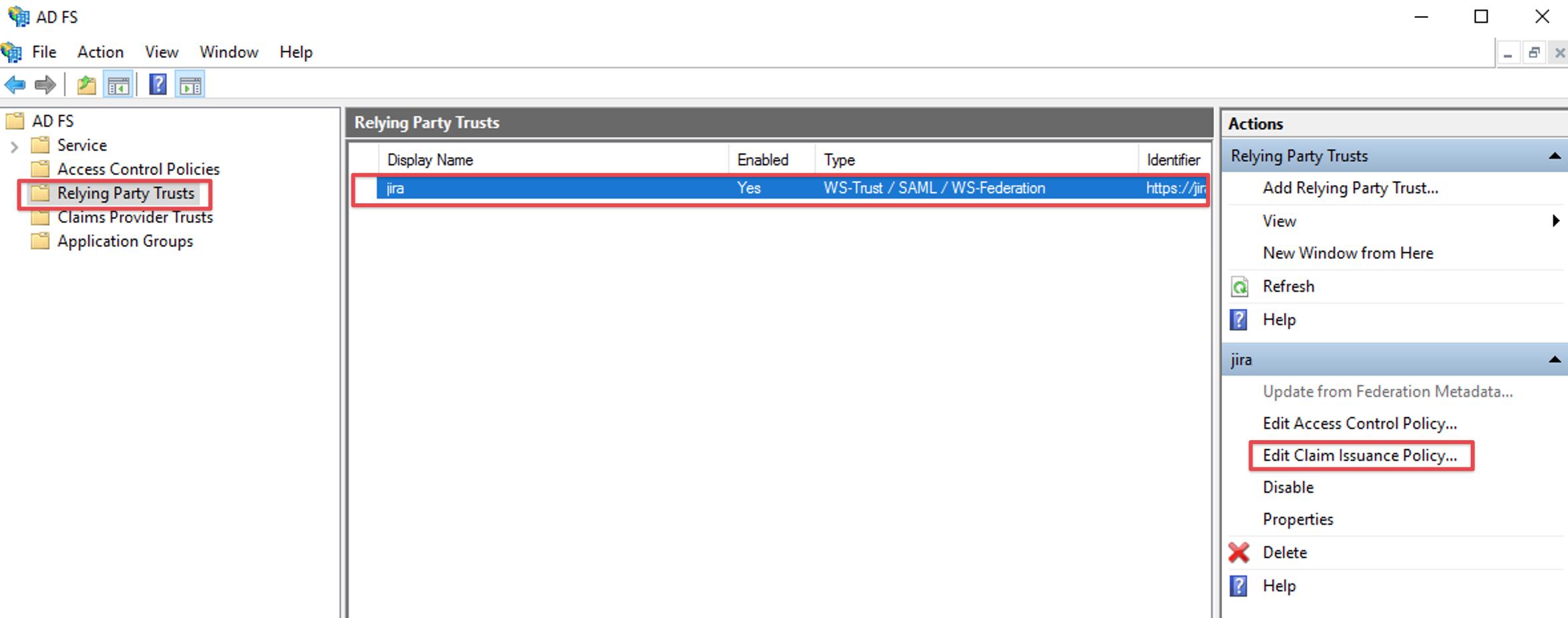 Nested Groups via ADFS/SAML