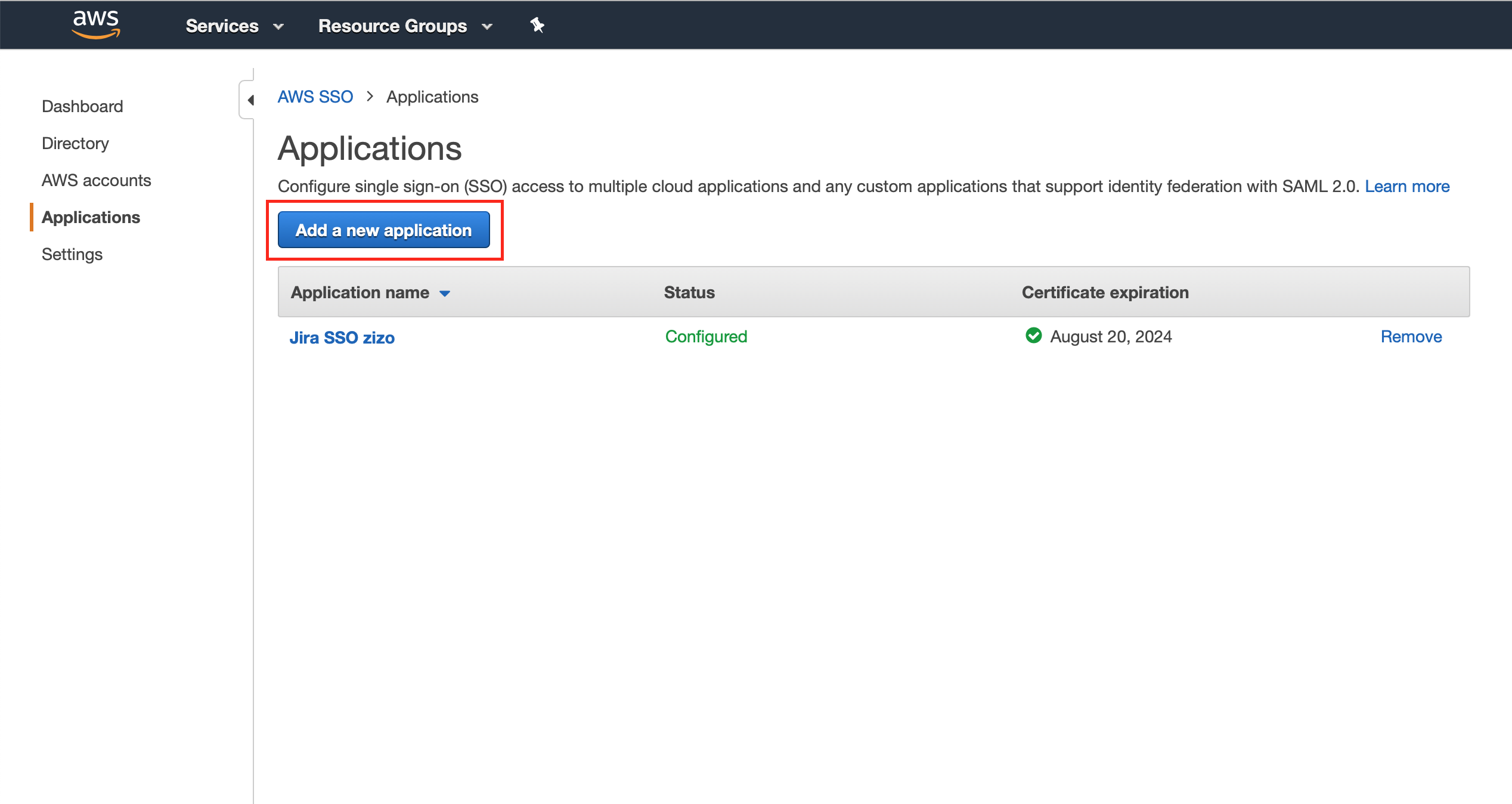 AWS with Just-In-Time Provisioning